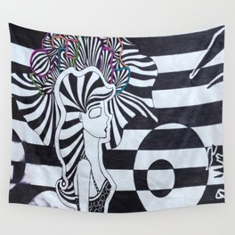 Colors of the Mind Wall Tapestry