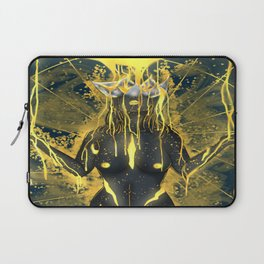 Pouring in gold. Laptop Sleeve