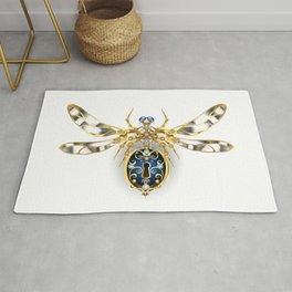 Mechanical Insect ( Steampunk ) Rug