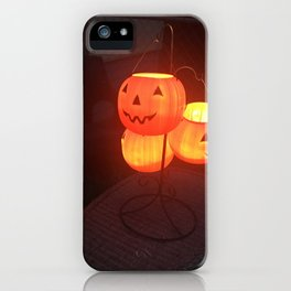 Halloween Lantern iPhone Case