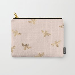 Busy Bees (Pink) Carry-All Pouch