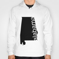 alabama Hoodies featuring Alabama by Isabel Moreno-Garcia