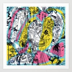 Genji Monogatari 2 Art Print