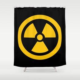 Yellow Radioactive Shower Curtain