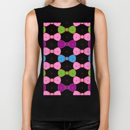 Bows or Bikinis - Optical illusion Biker Tank
