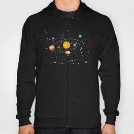 Cartoon solar system and planets around sun Hoody