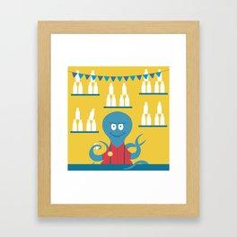 Octopus Carnie Framed Art Print