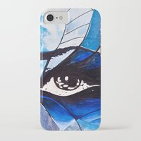 evil eye iPhone & iPod Cases featuring Evil eye by Alexandra Madhavan