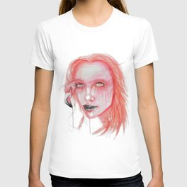 Metamorphosis-flamingo T-shirt