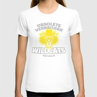 tenenbaums T-shirts featuring Obsolete Vernacular Wildcats (Royal Tenenbaums) by Tabner's