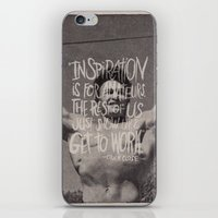 chuck iPhone & iPod Skins featuring CHUCK CLOSE by Josh LaFayette