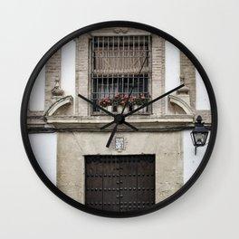 Casa Numero 2 (House Number 2) Wall Clock