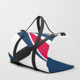 Abstract geometric pattern Duffle Bag