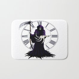 The Grim Reaper Bath Mat
