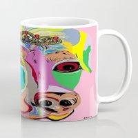rottweiler Mugs featuring Lady Rottweiler by EloiseArt