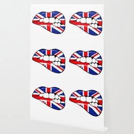 United Kingdom Lips Wallpaper