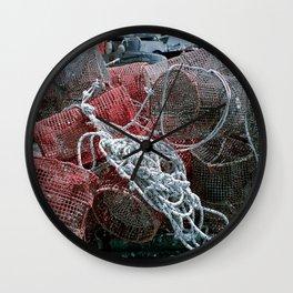 Fishing Gear Wall Clock