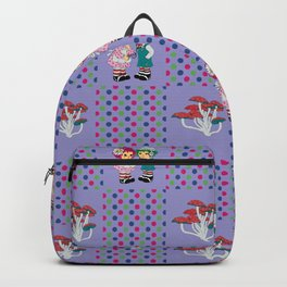 Story Book Pattern Backpack