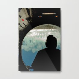 Mini Sub Dive Metal Print