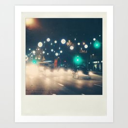 City Lights - Photo Art Print