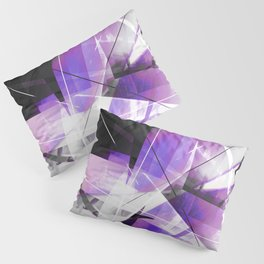 Breakwave - Geometric Abstract Art Pillow Sham