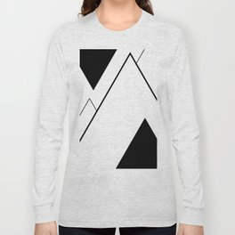 Minimal Mountains Long Sleeve T-shirt