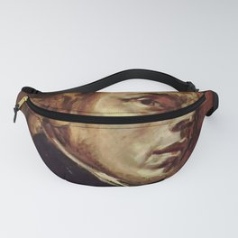 The Portrait of Frédéric Chopin by French artist Eugène Delacroix (1838) Fanny Pack