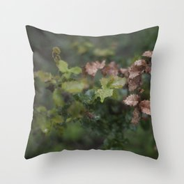 Oak Leaves Throw Pillow