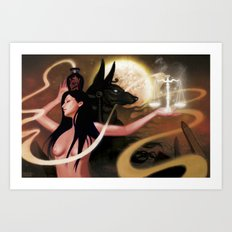 Spirit of Anubis Art Print