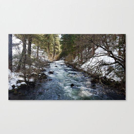 Burney Creek Canvas Print