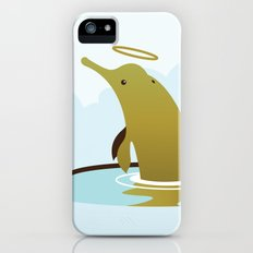 God's Zoo: Baiji Dolphin Slim Case iPhone (5, 5s)