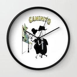 Caminito (Two to Tango) Wall Clock