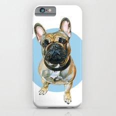 French Bulldog blue spot. iPhone 6s Slim Case