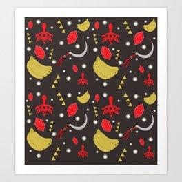 Yiga Clan Pattern Art Print