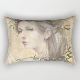 Mistletoe Rectangular Pillow