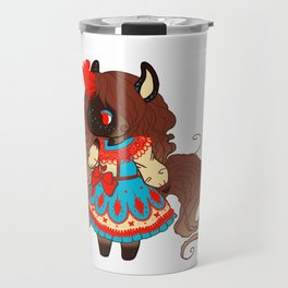 Red Dress Travel Mug