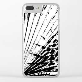Spiked Palm Clear iPhone Case
