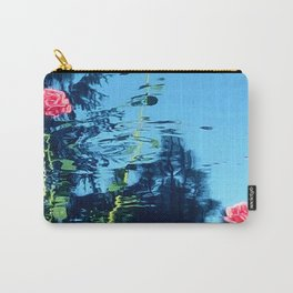 Rose Ripple Reflection Carry-All Pouch