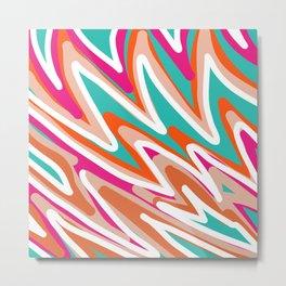 Color Vibes Metal Print