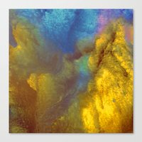 golden Canvas Prints featuring Golden by Benito Sarnelli