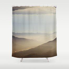 darjeeling for duvet Shower Curtain