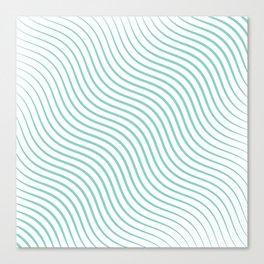 Tirquaz wavy modern lines Canvas Print