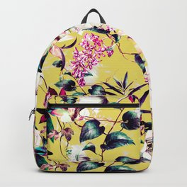 Colorful vibrant bloom Backpack
