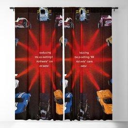 1969 Hot Wheels Redline Catelog Poster No 3 Blackout Curtain