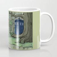 hallion Mugs featuring Visions are Seldom all They Seem by Karen Hallion Illustrations