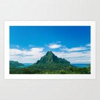 The Land #1  Art Print