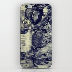 Black Rock Waters fall iPhone & iPod Skin