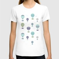 hot air balloons T-shirts featuring Hot Air by Styloclay