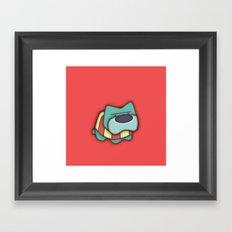 Sweater Dog Framed Art Print