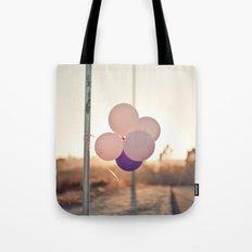 pink + purple Tote Bag